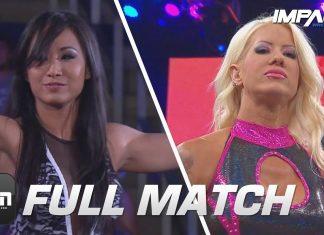 Gail Kim vs Angelina Love: FULL MATCH (Slammiversary 2014)   IMPACT Wrestling Full Matches
