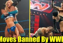 10 Wrestling Moves That Are FORBIDDEN By The WWE!