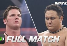 Samoa Joe vs AJ Styles: Super X Cup Final: FULL MATCH (TNA Sacrifice 2005) | IMPACT Full Matches