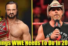 9 Things WWE NEEDS TO DO NEXT YEAR!