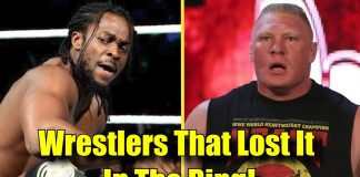 10 Times Wrestlers PERFORMED UNPROFESSIONALLY In The Ring!