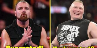5 Current Wrestlers That Are OVERRATED And 5 That Are UNDERRATED!