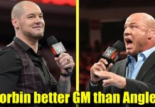 5 Reasons Why Baron Corbin Is A Better General Manager Than Kurt Angle!