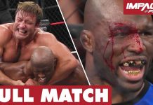 Moose & Stephan Bonnar vs Lashley & King Mo: FULL MATCH (BFG 2017) | IMPACT Wrestling Full Matches