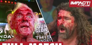 Ric Flair vs Mick Foley: LAST MAN STANDING (IMPACT Before The Glory) | IMPACT Wrestling Full Matches