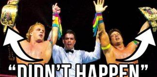 10 Phantom Wrestling Title Changes