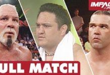 Samoa Joe vs Scott Steiner vs Kaz: FULL MATCH (Sacrifice 2008) | IMPACT Wrestling Full Matches