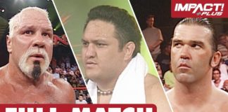 Samoa Joe vs Scott Steiner vs Kaz: FULL MATCH (Sacrifice 2008) | IMPACT Wrestling Full Matches