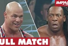 Kurt Angle vs Booker T: FULL MATCH (February 21, 2008) | IMPACT Wrestling Full Matches