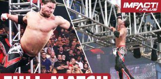 AJ Styles vs Rhino: First-Ever ELEVATION X MATCH | IMPACT Wrestling Full Matches