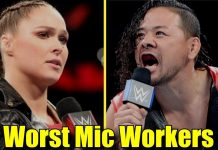 10 WWE Wrestlers That Are The WORST MIC WORKERS!