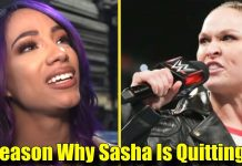 5 Reasons Why Sasha Banks Is Trying To QUIT From WWE!