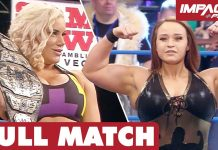 Jordynne Grace vs Taya Valkyrie: Knockouts Championship FULL MATCH | IMPACT Wrestling Full Matches