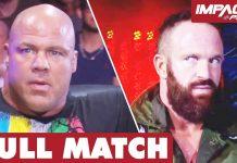 Kurt Angle vs Eric Young: STRETCHER MATCH (Hardcore Justice 2015)   IMPACT Wrestling Full Matches