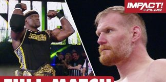Bobby Lashley vs Josh Barnett: TNA World Championship FULL MATCH | IMPACT Wrestling Full Matches
